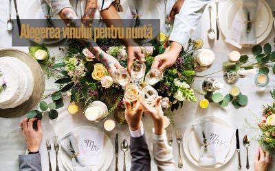 Alegerea vinului pentru nuntă