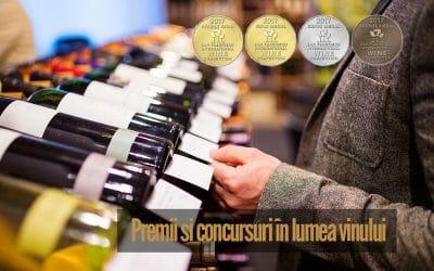 Premii și concursuri în lumea vinului