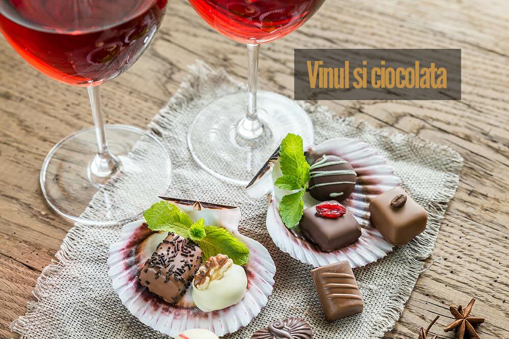 Vinul și Ciocolata