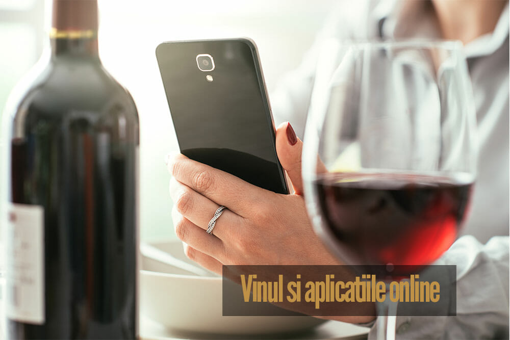 Vinul și aplicațiile online