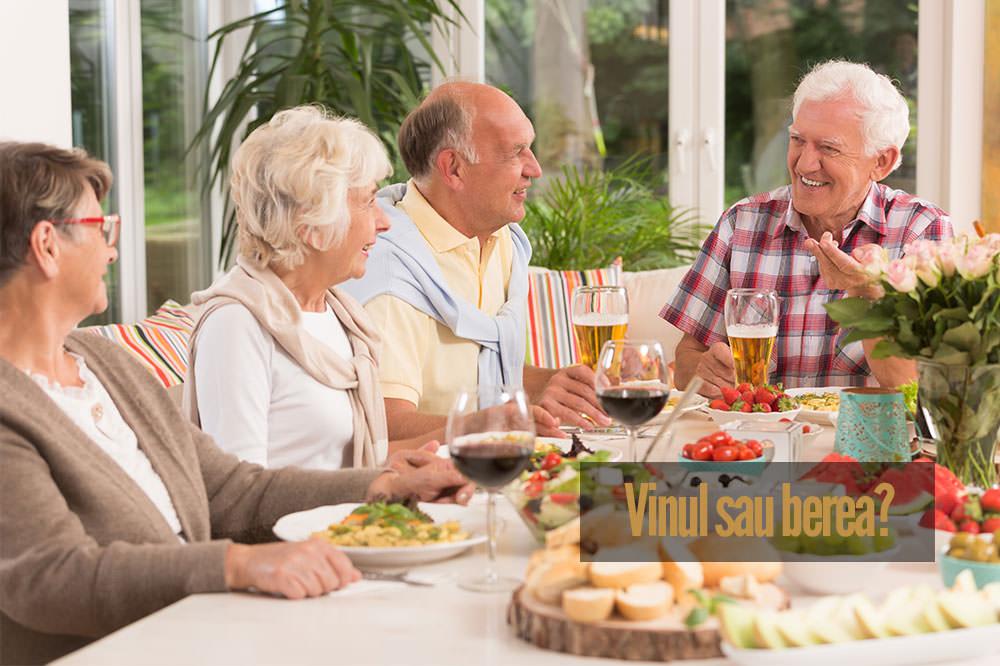 Nutriție și sănătate: vinul sau berea?